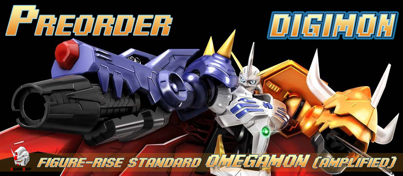Figure-rise Standard - Digimon: Omegamon (Amplified)